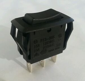 New Momentary on off on Spdt Rocker Switch Ships From Usa Free Air Ride