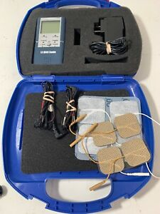 Lg Quad Combo Tens Electrical Nerve Stimulation Therapy Unit With Case Tested