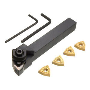 Metal Lathe Turning Tools Holder Carbide Inserts Sets Used For Steel Machining