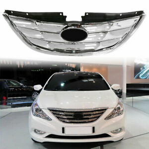 For 2011 2013 Hyundai Sonata Grille Assembly 23334qg 2012 Front Grill Chrome