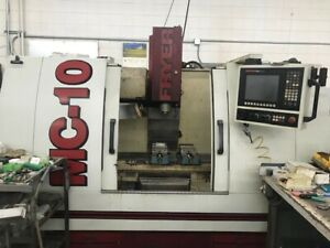 Used Fryer Mc 10 Cnc Vertical Machining Center Mill Anilam 6000 Touch Control 06