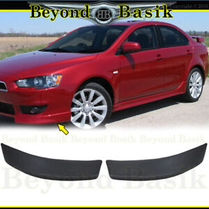 2008 2009 11 2012 2013 2014 2015 Mitsubishi Lancer Factory Style Front Body Kit