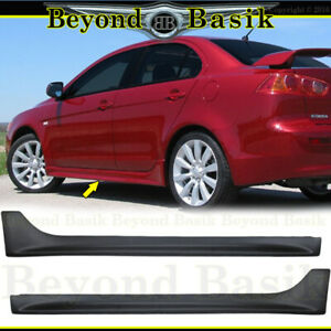 2008 13 2014 2015 2016 2017 Mitsubishi Lancer Body Kit Side Skirts Factory Style