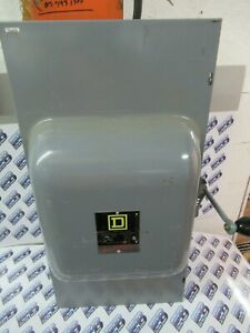 Square D 82254 Series E 200 Amp 240 Volt 2 Pole Double Throw Switch Ats53