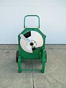 Greenlee 555 Electric Pipe Bender W 1 2 1 1 4 Emt Imc Rigid Shoe 555cx Used