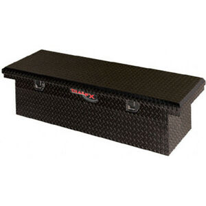Diamond Tread Black Aluminum Lp Crossover Truck Tool Box 69x13 5x19 25in