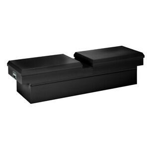 Smooth Black Gloss Steel Standard Crossover Truck Tool Box 70 25x17x20 5in