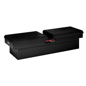 Smooth Black Matte Steel Standard Crossover Truck Tool Box 70 25x17x20 5in