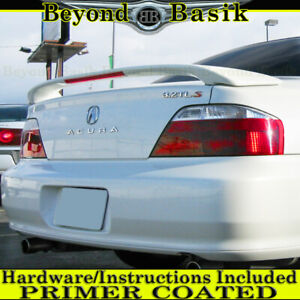 1999 2000 2001 2002 2003 Acura Tl Factory Style Trunk Spoiler Wing W Led Primer