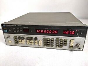 Hp Agilent Keysight 8656b Frequency Synthesized Signal Generator 1 990 Mhz