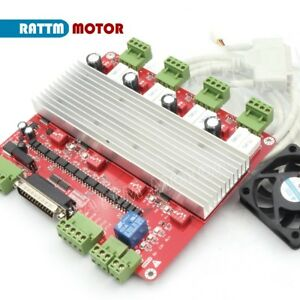 4 Axis Tb6560 Driver Board Cnc Milling Machine Stepper Motor Driver Controller