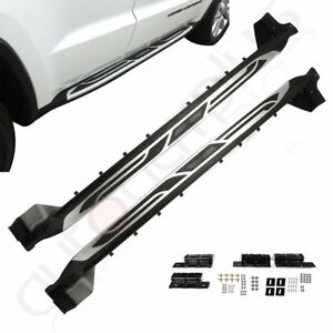 Fits 2011 2019 Jeep Grand Cherokee Side Step Style Nerf Bars Running Board