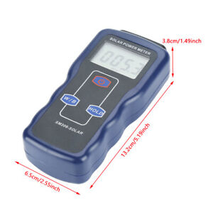 Sm206 Digital Solar Power Energy Meter Sun Light Radiation Measuring Instrument