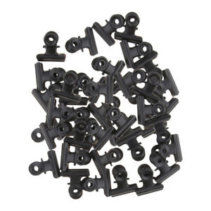 20 Pcs Bulldog Clips Letter Money File Photos Large Binder Clamps 3 Inch