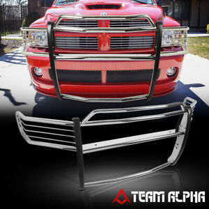 Fits 2002 2005 Dodge Ram 1500 2500 3500 Stainless Steel 1 5 Bumper Grille Guard