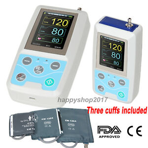 For Adult pediatric child Ambulatory Blood Pressure Monitor 24 Hours Three Cuffs