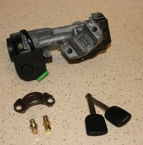 Manual 03 05 Honda Civic Ignition Lock Cylinder Switch With 2 Keys 2 New Bolt