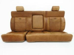 Ford King Ranch F150 Seats Rear Seat Leather 2004 2005 2006 2007 2008