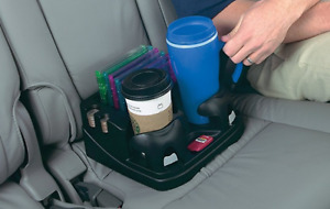 Car Cup Holder Bench Seat Drink Tumbler Coins Cd Organizer Suv Truck Console Box