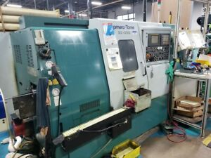 Used Nakamura tome Sc 250 Live Tool Sub Spindle Cnc Turning Center Lathe Fanuc