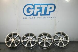 5x114 3 Sport Edition A7 17x7 5 45 Wheels Wheel Set Of 4 Silver Rims