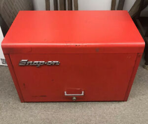 Vtg Snap On Tools Kra 59j 9 Nine Drawer Tool Chest Box Cabinet Rare Canada Box