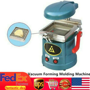 Dental Lab Equipment Vacuum Forming Molding Machine 600w Heating Former 110v Us