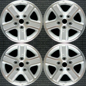 Set 2006 2007 2008 Dodge Ram 1500 Oem Factory Machined Silver Wheels Rims 2265