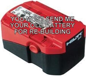 Re build Service For Hilti B 24 2 0 Battery Item No 00378424