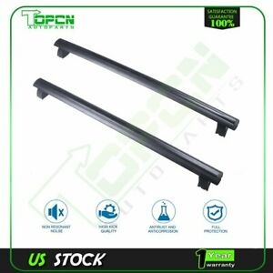 For Jeep Grand Cherokee 2015 16 Black Front Rear Roof Top Rack Cross Aluminum