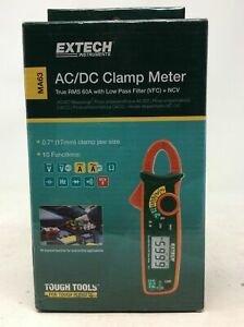 Extech Ma63 True Rms 60a Ac dc Clamp Meter With Ncv