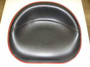 Ih Farmall Cub C H M 200 300 450 new Black Vinyl Pan Seat 20 4 3