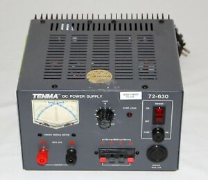 Tenma 72 630 30a Regulated Dc Power Supply Tested Works
