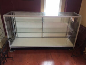Extra Vision Glass Showcase Display Case