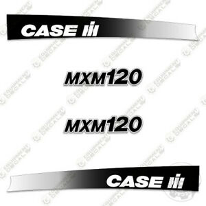 Case3 Mxm120 Decal Kit Farm Tractor Replacement Stickers 7 Year Vinyl