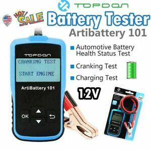 12v Battery Tester Analyzer Agm Gel Digital Vehicle Automotive As Autool Bt460