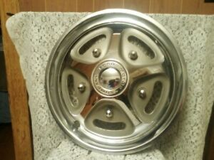 1974 77 Ford Truck 1977 79 Bronco Rear Mag Style 15 Inch Hub Cap Wheelcover Nice
