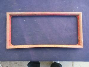 Late 1931 Model A Ford Coupe Rear Window Frame Garnish Molding Trim Roll Down 31