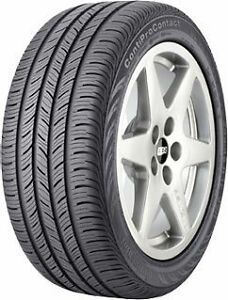 Continental Tire Contiprocontact P195 65r15 89h Set Of 2 New Tires