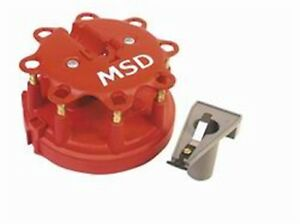 Msd Ignition Distributor Cap Rotor Kit Ford Duraspark