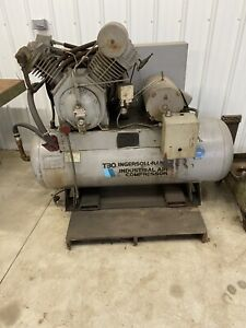 T30 Ingersoll Rand 2 Stage Industrial Air Compressor