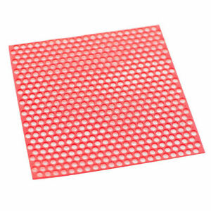 10 Sheets box Dental Red Round Hole Patterns Wax Casting Lab Supplies Sale Hot