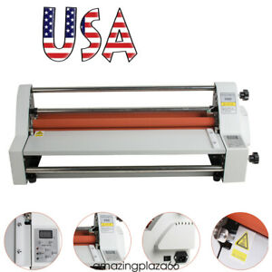 Control 17 hot Cold Roll Laminator Single dual Sided Laminating Machine Sealed