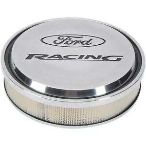 Proform 302 383 Ford Racing Slant edge Air Cleaners Polished
