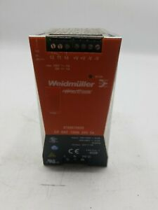 Weidmuller 24vdc Power Supply 8708670000 Cp Snt 120w 24v 5a