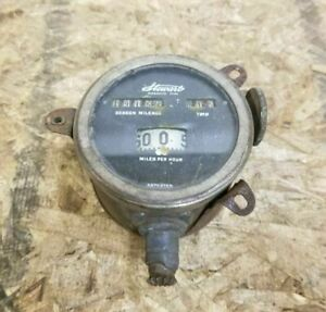 Original Ford Model T Stewart Speedometer Magnetic Type With Mount