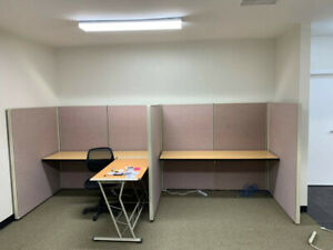 Cubicles With Desk 6 x4 And 6 x6