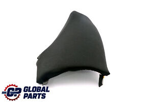 Bmw 1 Series E87 Lci Rear Seat Side Finisher Corner Left N s Black Cloth Fabric