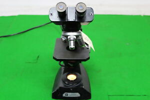 Vintage Vickers Instruments Microscope Comes With 3 Objectives