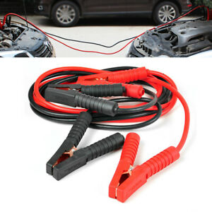 6 M 3000amp 0 Gauge Booster Cables Jumper Leads Car Suv Van Clamps Start 19 6ft